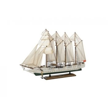 Парусный корабль j s elkano 33 см