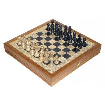 Шахматы каменные американские 43х43 см (3,50) rtg-5887