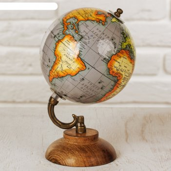Сувенир глобус горы 12,5х12,5х21,5 см