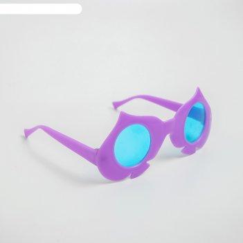 Карнавальные очки «масти», детские, виды микс