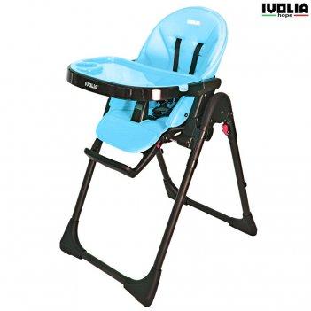Стульчик для кормления ivolia hope 01 2 колеса blue