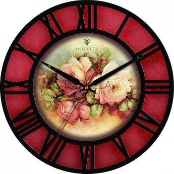 Настенные часы tiarella розарий