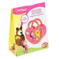 Набор для шитья сумочки маша и медведь из фетра bag01-masha