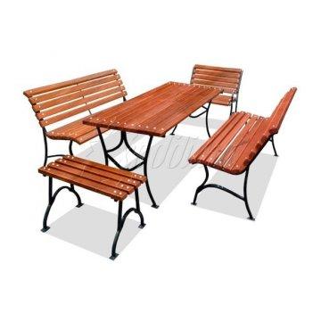 Комплект садовой мебели «элегант» 1,5 м