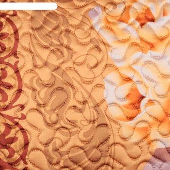 Покрывало 3d marianna евро «маргарита», 200х220 см, искусственный шёлк