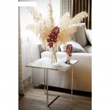 Стол журнальный «бекко», 500 x 500 x 500 мм, мдф, цвет винтаж