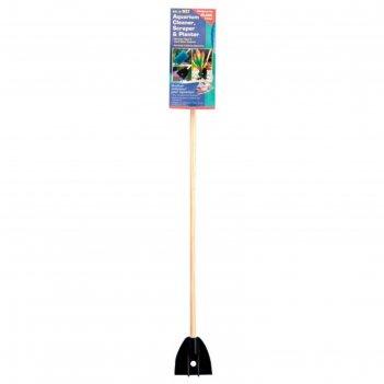 Очиститель стекол penn-plax wizard, деревянная ручка