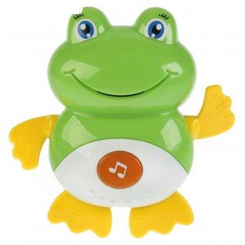 Игрушка для купания лягушка 15 стихов/потешек,учим звуки и голоса животных