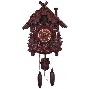 Настенные часы с кукушкой columbus сq-016