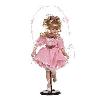 Фарфоровая кукла принцессас мягконабивным тулови...