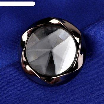 Пуговица декоративная, d=30см, цвет чёрный