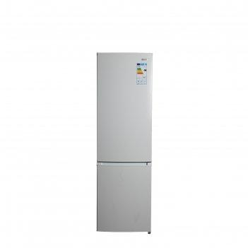 Холодильник zarget zrb 290w, двухкамерный, класс а+, 267 л, белый