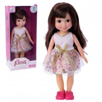 Кукла оля в платье, микс
