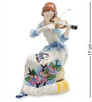 Jp-37/ 2 фигурка девушка со скрипкой (pavone)