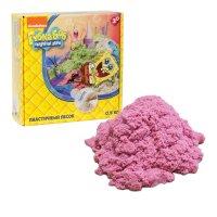1toy губка боб, космический песок, розовый 0,5 кг
