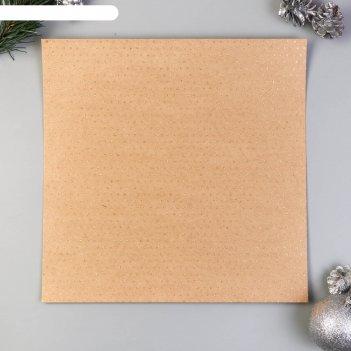 Крафт-бумага с золотым глиттером pebbles- christmas - merry merry