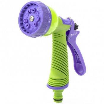Пистолет-распылитель, 9 режимов полива, эргономичная рукоятка palisad