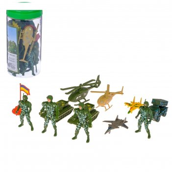 Набор солдатиков дивизия, 12 предметов