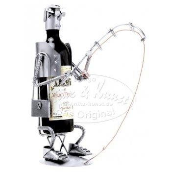 7909 украшение для бутылки рыбак d 9,5 см