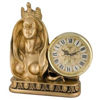 Скульптурные часы из полимерных смол восток 8358-1