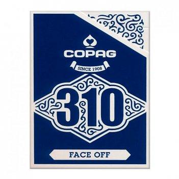 """Карты """"copag 310 face of blue"""""""