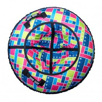 Санки надувные тюбинг rt конструктор, диаметр 105 см