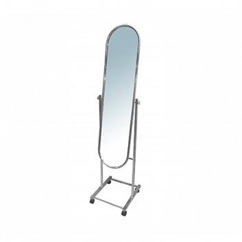 Зеркало напольное 160*40*40, цвет хром