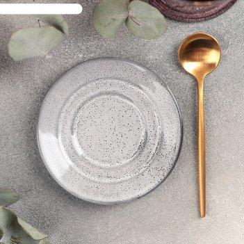 Блюдце универсальное малое 10,5 см, h 1 см nebbia