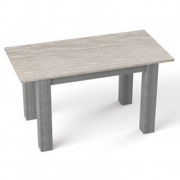 Бостон  стол  antivandal (пластик) раскладной  1200(1500)х800 мм, цвет дым