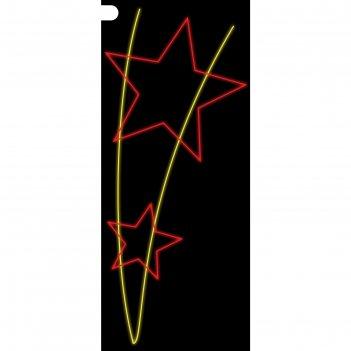 Светодиодная консоль победа, 1 х 0.45 м, led-шнур 5 м, 15 вт, металлически