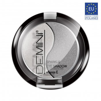 Тени для век demini sparkle eye shadow с витамином е, тон 03