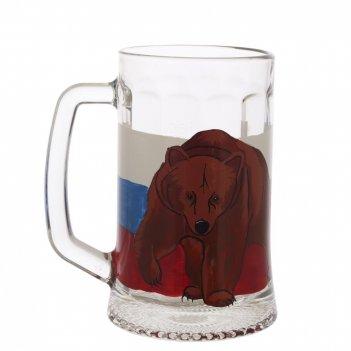 Кружка для пива 0.67л, в индивидуальной упаковке