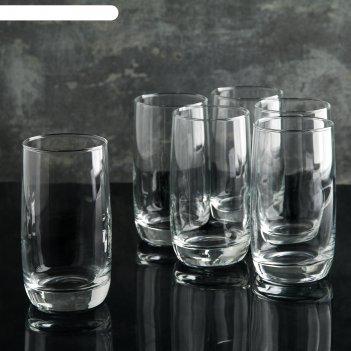 Набор стаканов 330 мл французский ресторанчик, 6 шт