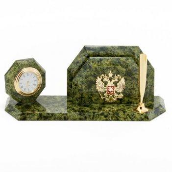 Мини-набор герб камень змеевик