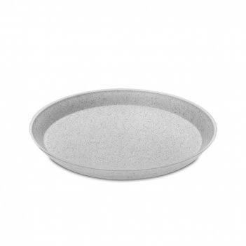 Тарелка organic, диаметр: 20,5 см, материал: термопластик, цвет: серый, се