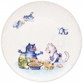 Тарелка закусочная lefard любовь моя 20,5 см