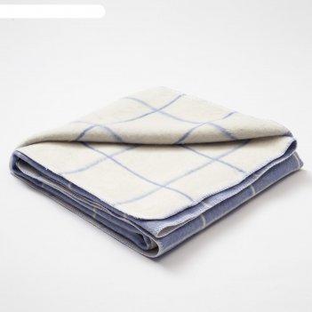 Одеяло этель клетка, 147х212 см, 78% хл., 22% п/э