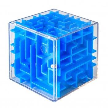 Лабиринтус куб 6см, синий