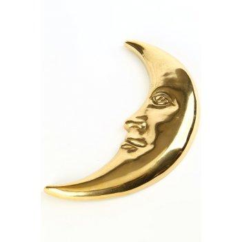 Настенное украшение луна большая 26 х 15 см