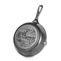 Сковорода , диаметр: 20 см, материал: чугун, lodge, сша, сковороды