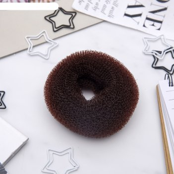 Валик для волос (коричневый)