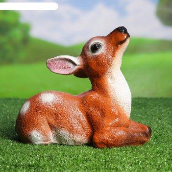 Садовая фигура олененок 24*13*20 см