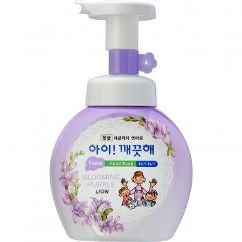 Пенное мыло для рук lion ai - kekute «аромат фиалки», антибактериальное, ф