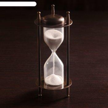 Сувенир песочные часы (5 мин) 16х6,5х6,5 см