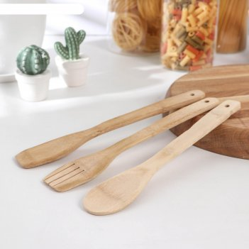 Набор кухонных принадлежностей дуновение леса, 3 предмета