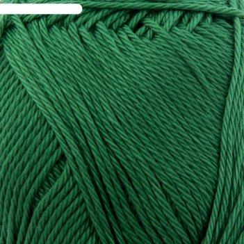 Пряжа bahar 100% мерсеризованный хлопок 260м/100гр (118 зеленая трава)