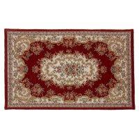 Коврик для дома персидский, 60*90 см, красный