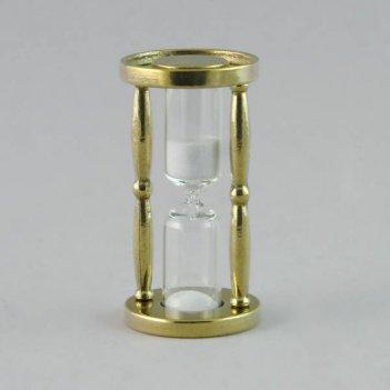 al-80-239-1 песочные часы золотого цвета из бронзы