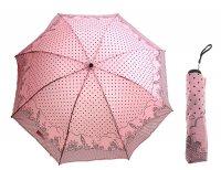 Зонт механический сити, цвет коралловый