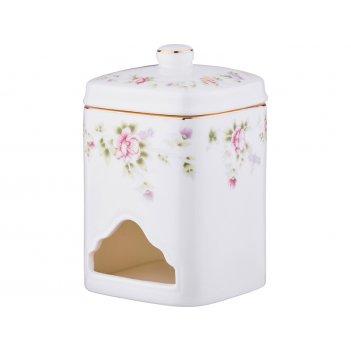 Банка для чайных пакетиков екатерина 8*8*13 см. (кор=24шт.)